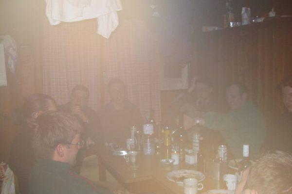 Hüttenfest Feb 2003